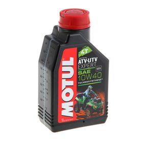 Моторное масло MOTUL ATV UTV Expert 4T 10W-40, 1 л Ош