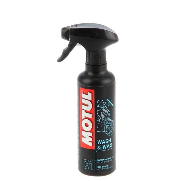 MOTUL Е1 Очиститель Wash & Wax 400мл 102996