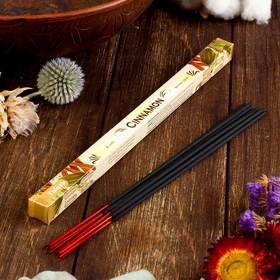 Благовония Sarathi 'Cinnamon. Корица ', 8 палочек в упаковке, четырёхгранник Ош