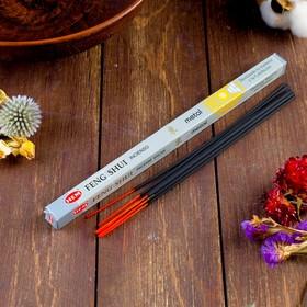 Благовония HEM 'Feng Shui Metal. 'Металл', 8 палочек в упаковке,четырёхгранник Ош