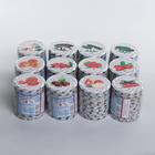Крышка для консервирования «Елабуга. Карусель», ТО-82 мм, винтовая, литография, упаковка 10 шт, цвет МИКС - Фото 6