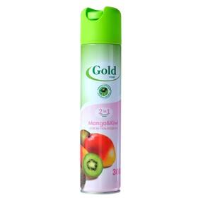 Освежитель воздуха Gold wind 2 в 1 манго и киви, 300 мл Ош
