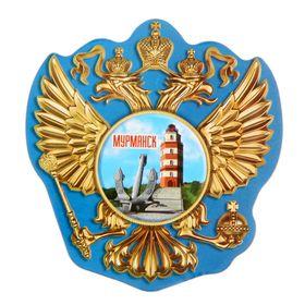 Магнит в форме герба «Мурманск» Ош
