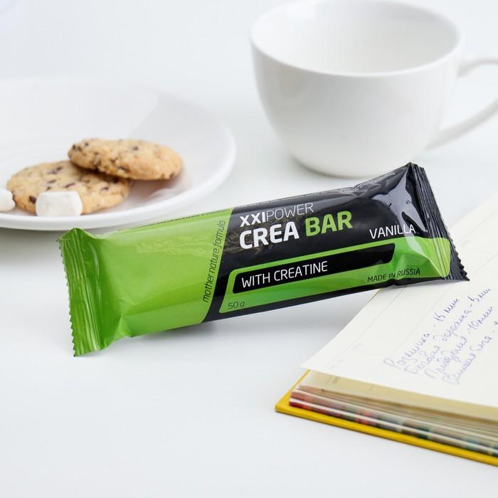 """Батончик """"Crea Bar"""" с креатином, 50 г Ваниль /шоколадная глазурь"""