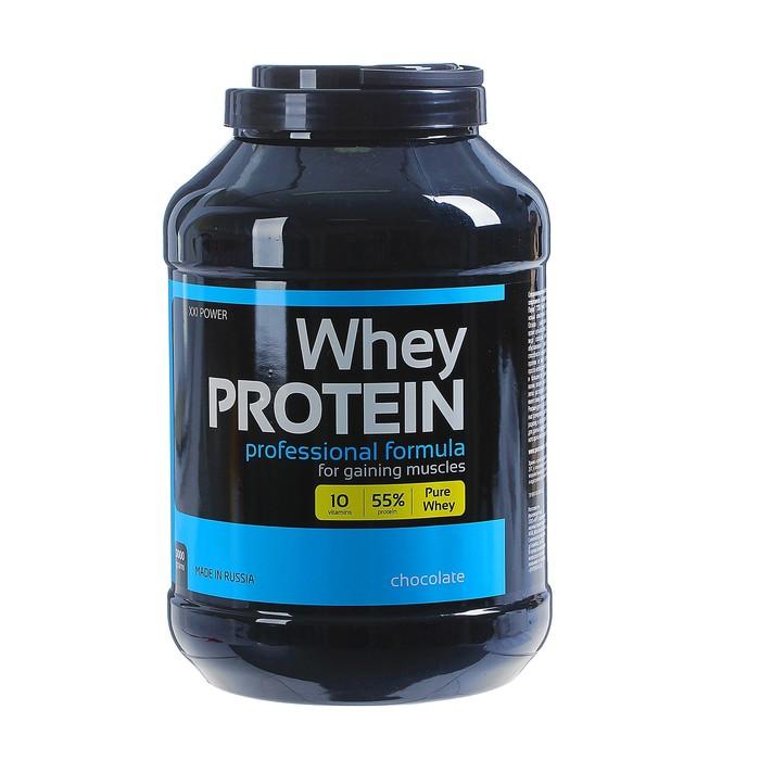 Сывороточный протеин IronMan, шоколад, 3000 г