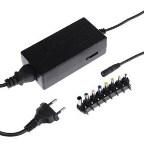 Универсальное зарядное устройство для ноутбука Luazon ZU10, 120 Вт, с переходниками 8 шт Ош