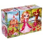 Кубики «Принцессы» картон, 6 штук, по методике Монтессори - Фото 2