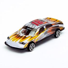 Машина металлическая «Рейсинг», цвета МИКС Ош