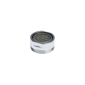 Аэратор, наружная резьба, d= 20 мм, сетка пластик, корпус пластик, цвет хром Ош