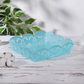 Корзина для хранения «Бабочки», 18×18×5 см, цвет МИКС