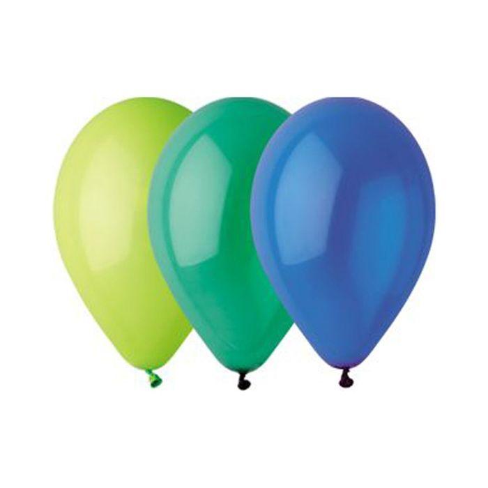 Шар латексный 5, пастель, водные бомбочки, набор 100 шт., цвета МИКС