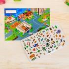 Игра развивающая «Мой город», 83 наклейки