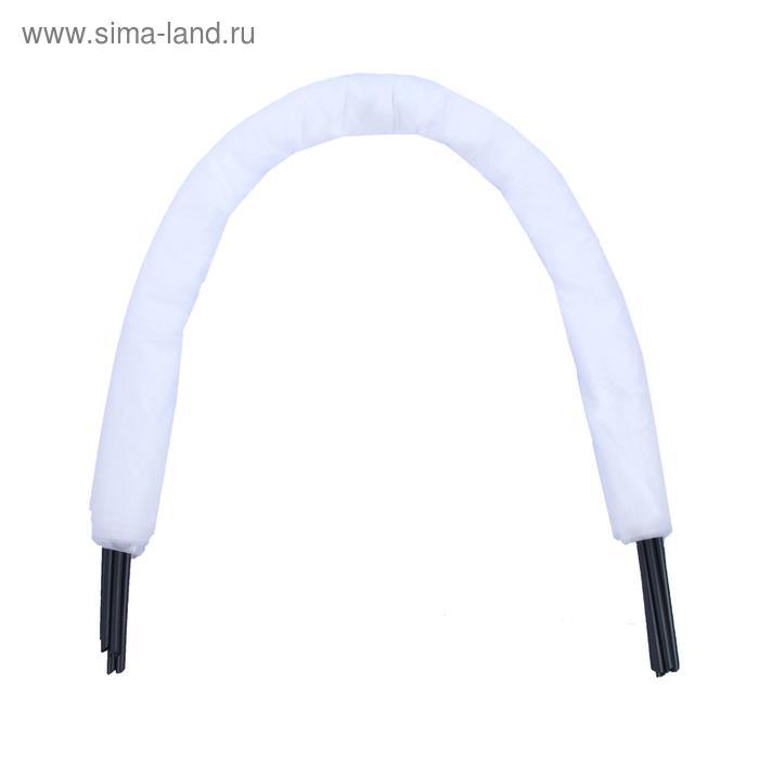 Парник прошитый «уДачный», длина 6.5 м, 7 дуг из пластика, дуга L = 2,4 м, d = 16 мм, укрывной материал 35 г/м?