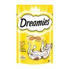 Лакомство Dreamies для кошек, сыр, 60 г