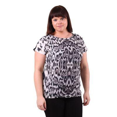 Блузка-топ женская 51100276 цвет чёрный, р-р 50(XL), рост 170