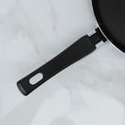 Сковорода блинная PROMO, d=22 см, антипригарное покрытие, цвет бордовый - Фото 8
