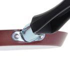 Сковорода блинная PROMO, d=22 см, антипригарное покрытие, цвет бордовый - Фото 4