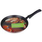 Сковорода блинная PROMO, d=22 см, антипригарное покрытие, цвет бордовый - Фото 5