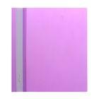 Папка-скоросшиватель А5, 140/180мкм Hatber, фиолетовая