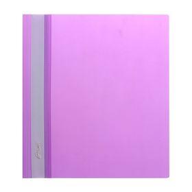Папка-скоросшиватель А5, 140/180 мкм, фиолетовая