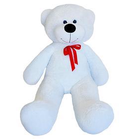 Мягкая игрушка «Мишка Федор», 115 см, цвет белый, МИКС