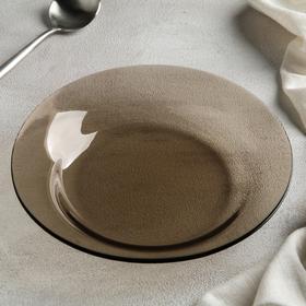 Тарелка мелкая «Уоркшоп Броунз», d=22 см