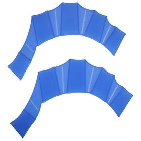 Перепонки для плавания размер S, цвета МИКС Ош