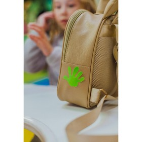 Светоотражающая наклейка «Ручка», 5,3 × 5,3 см, 4 шт на листе, цвет МИКС Ош