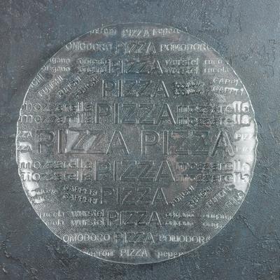 Тарелка «Пицца», d=35 см, прозрачный
