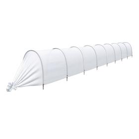 Парник прошитый, длина 8.5 м, 9 дуг из пластика, дуга L = 2 м, d = 20 мм, спанбонд 35 г/м², Reifenhäuser, «Ленивый» Ош