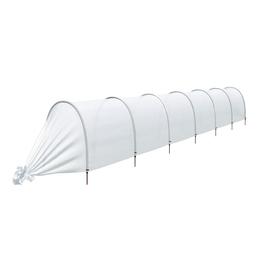 Парник прошитый, длина 6.5 м , 7 дуг из пластика, дуга L = 2 м, d = 20 мм, спанбонд 35 г/м², Reifenhäuser, «Ленивый» Ош
