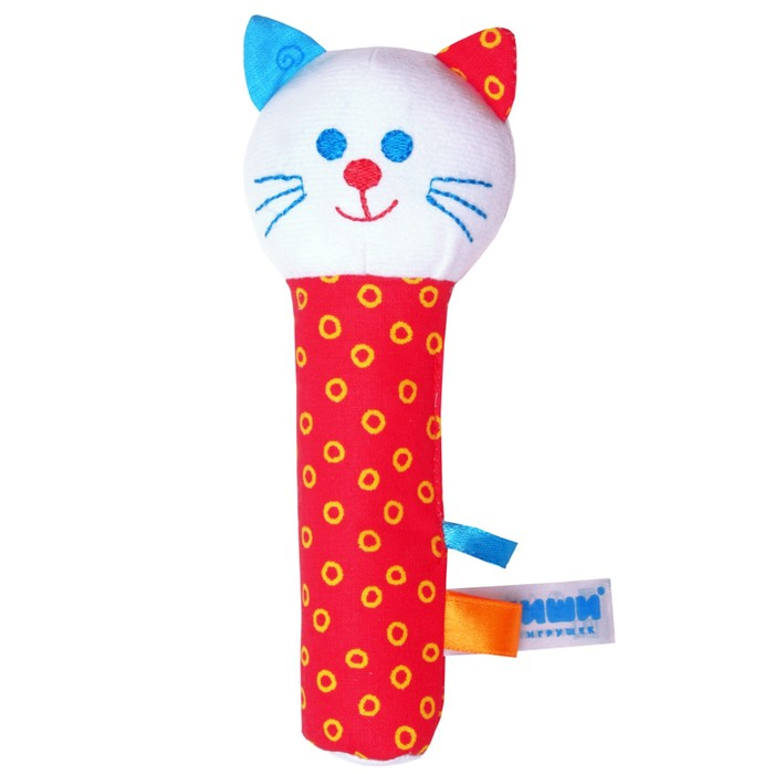 Развивающая игрушка «ШуМякиши. Котик»
