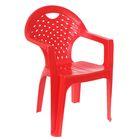 Кресло, 58,5 х 54 х 80 см, цвет красный
