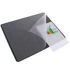 Накладка на стол Durable, 530 ? 400 мм, нескользящая основа, чёрная
