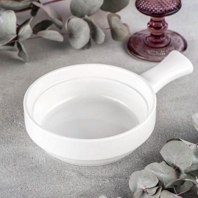 Форма для запекания Wilmax, d=15 см, 300 мл, цвет белый - Фото 1
