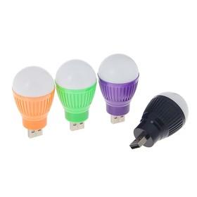 Светильник Luazon светодиодный Luazon, 5 ватт, в USB, МИКС Ош