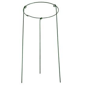 Кустодержатель, d = 40 см, h = 90 см, ножка d = 0.3 см, металл, зелёный, троеножка Ош