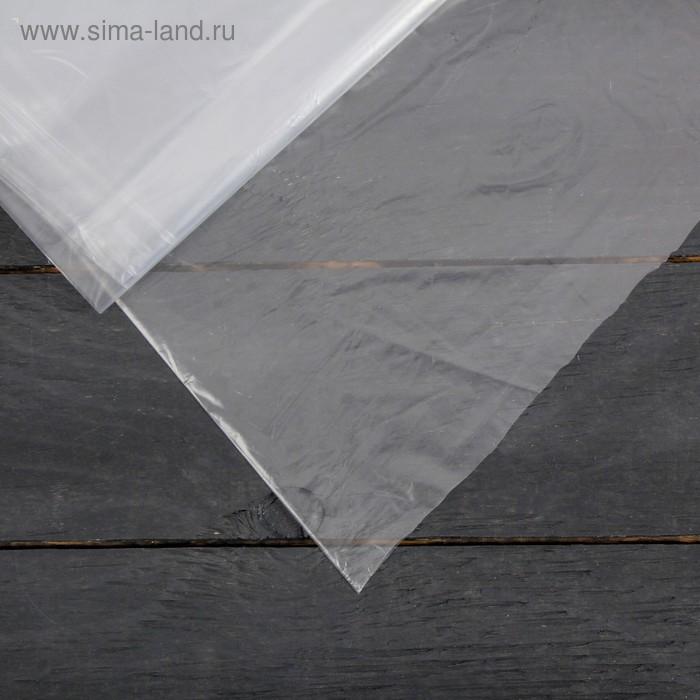 Плёнка полиэтиленовая, толщина 30 мкм, 3 × 10 м, рукав (1,5 м × 2), прозрачная, 1 сорт, ГОСТ 10354-82