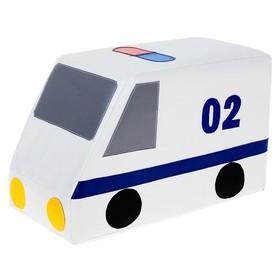 Мягкий модуль «Машина полицейская», МИКС Ош