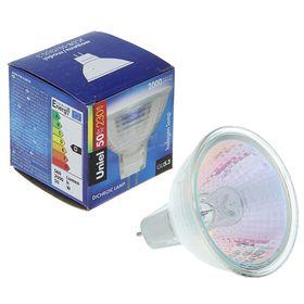Лампа галогенная Uniel, 50 Вт, GU5.3, 230 В