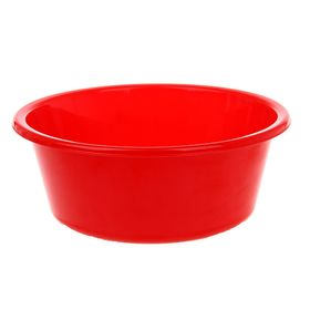 Таз круглый ТД Ангора «Кливия», 4 л, цвет красный Ош
