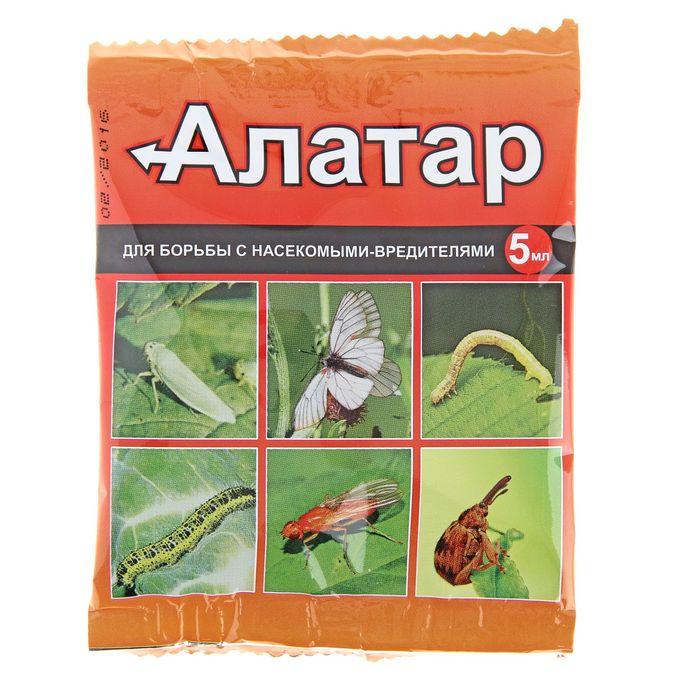 Средство от вредителей овощных культур Алатар ампула, 5мл