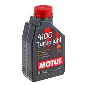 Моторное масло MOTUL 4100 Turbolight 10W-40 А3/В4, 1 л 102774