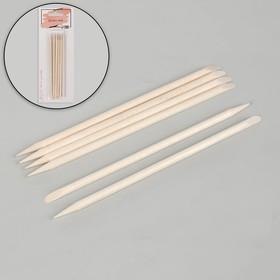Апельсиновые палочки для маникюра, 11,4 см, 6 шт Ош