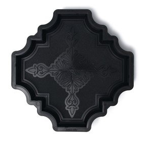 Форма для тротуарной плитки «Клевер краковский большой», 29 × 29 × 4 см, шагрень, 1 шт. Ош
