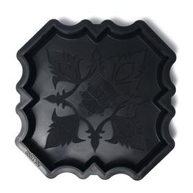 Форма для тротуарной плитки «Клевер краковский большой», 29 × 29 × 4 см, гладкий, 1 шт. Ош