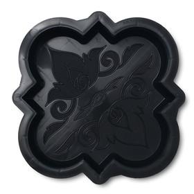 Форма для тротуарной плитки «Клевер краковский малый», 21,5 × 21,5 × 4 см, гладкий, 1 шт. Ош