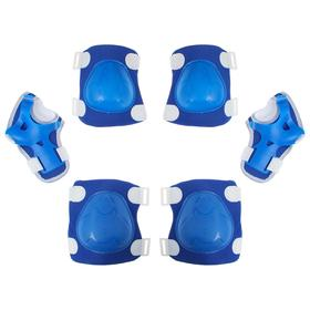 Защита роликовая OT-2017, размер универсальный, цвет синий Ош