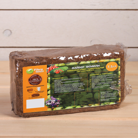 Субстрат кокосовый в блоке, 20 × 10 × 7 см, 7 л