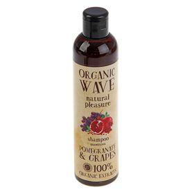 Шампунь для волос Organic Wave Pomegranate & Grapes, объем,  270 мл